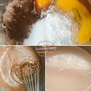 preparation gaufres chocolat gourmandises épicées