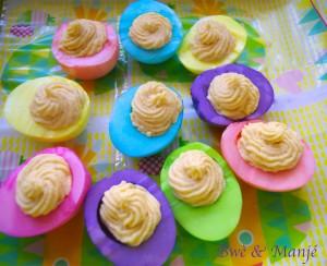 Oeufs mimosa de Pâques