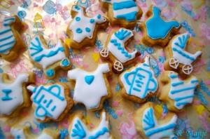 biscuits décorés bébé