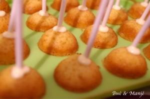 cake pop préparation