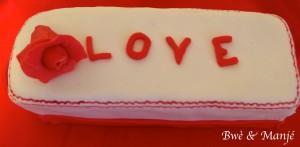 cake st valentin