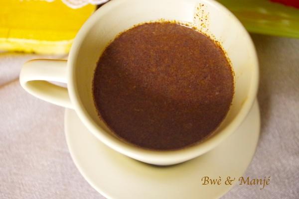 chocolat chaus à l'antillaise