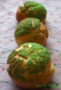 choux à la pistache
