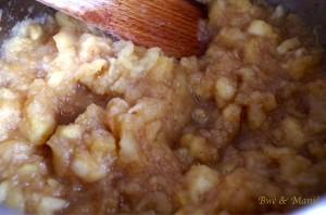 compôte pomme cannelle