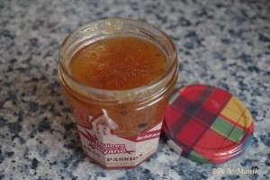 confiture ananas passion