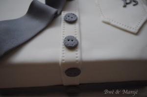 cravate cake design