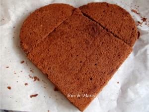 faire un gâteau coeur sans moule