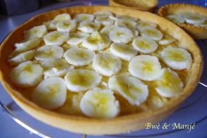 fond tarte banane