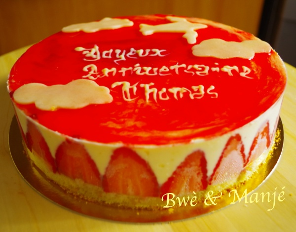 fraisier anniversaire thx