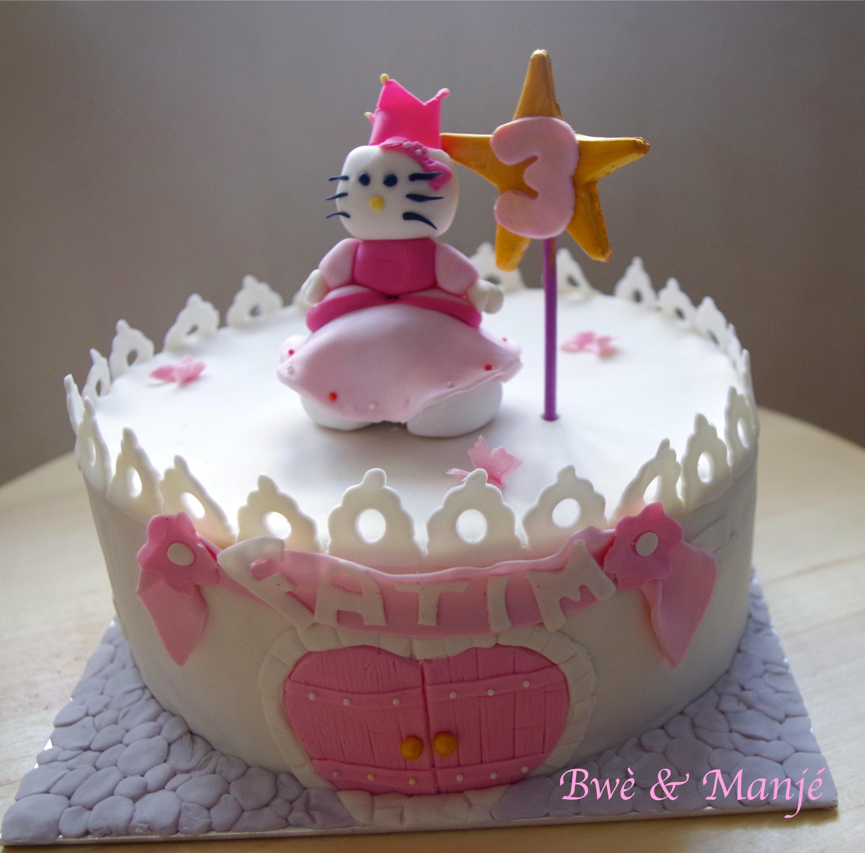 Princesse Hello Kitty Et Son Chateau Cake Design Gourmandises