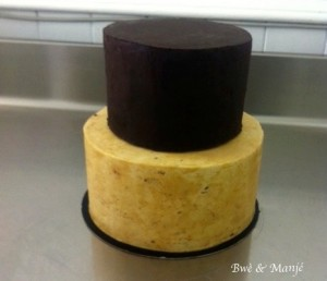 gâteau avant couverture