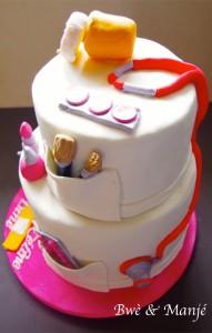 gâteau make up cake design
