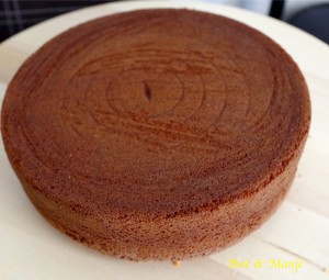 gâteau vanillle