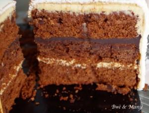 mud cake chocolat épicé