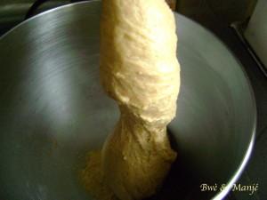 pâte pains cannelle