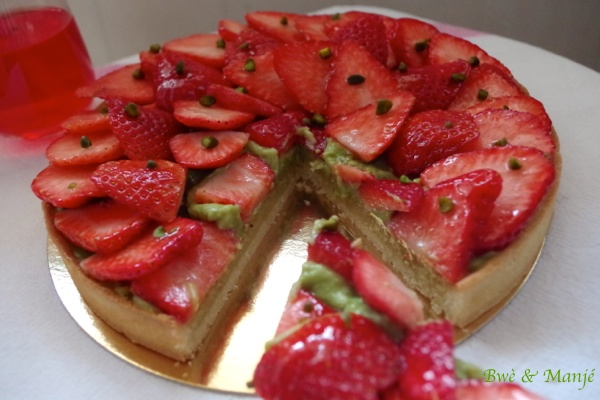 part tarte aux fraises