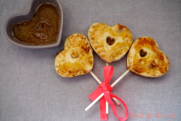 pie pop saint valentin