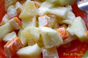 salade manioc papayes