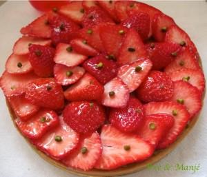 trte fraises pistache